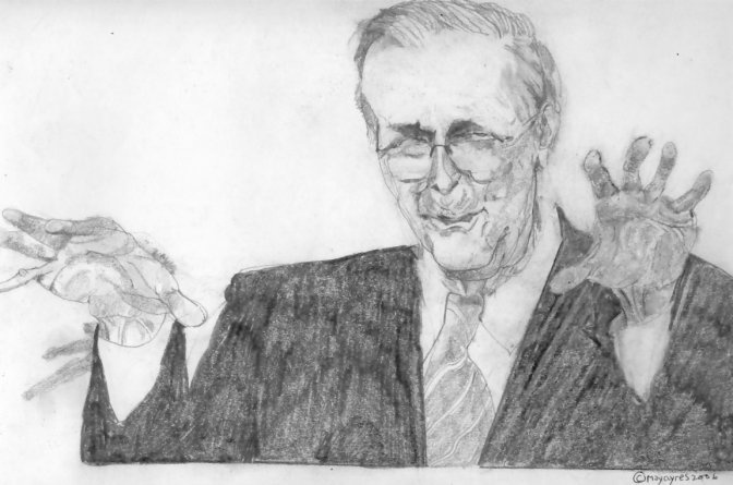 May Ayres - Donald Rumsfeld