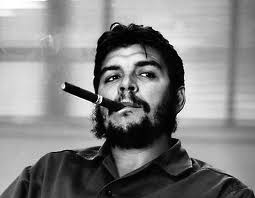 Che Guevara and a Montecristo cigar
