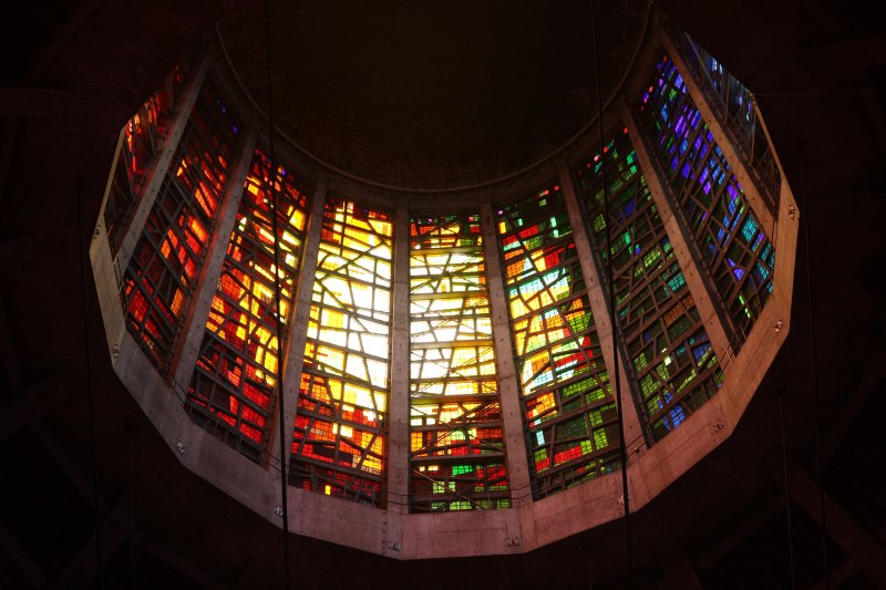 John Piper and Patrick Reyntiens' stained glass for Liverpool Cathedral