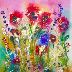 Abby Cork - vibrant water colours