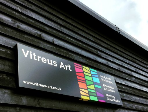 Vitreus Art - Fused Glass, Stained Glass, art and craft workshops and affordable art gallery