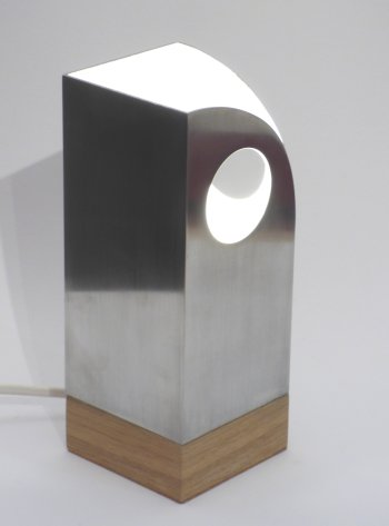 Brian Kichenside light sculprures at Vitreus Art