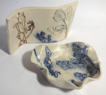 Charlotte Hupfield ceramics on show at Vitreus Art, Northants UK