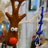 Decorate your tree with handmade decorations from Vitreus Art