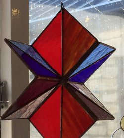 join the Vitreus Art stained glass Tiffany 3d copper foiling workshop - click on the picture to find out more