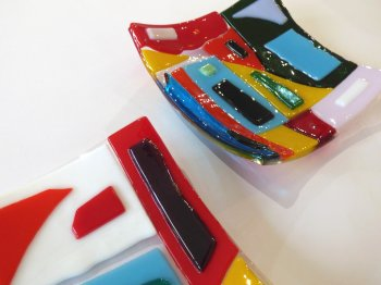6-week evening course in Glass Fusing with Vitreus Art