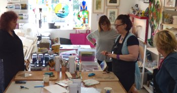 Fused Glass classes - small class sizes