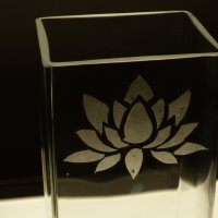 Glass etching workshop with Vitreus Art