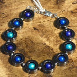 New Harlequin jewellery made in Cornwall on sale at Vitreus Art