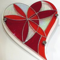 heART stained glass art - Click to view