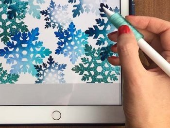 Learn how to create art on your iPad or other device on this introduction to digital art at Vitreus Art