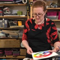 Art Evening courses with Emily Brady at Vitreus Art