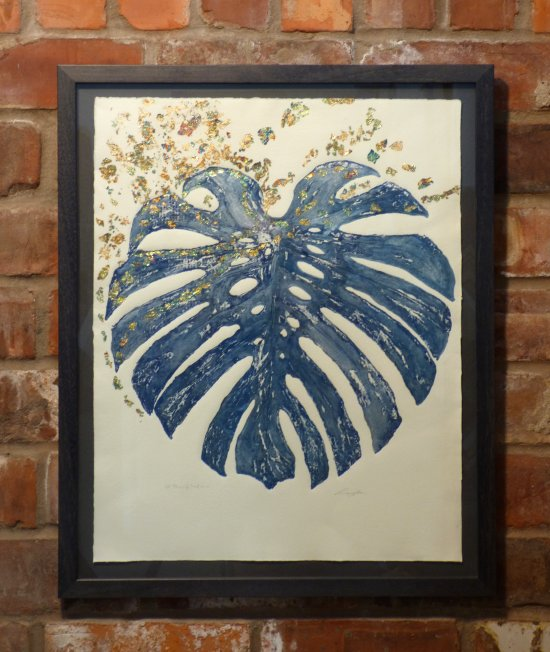 Lindsey Graham printmaker - new work on display and for sale at Vitreus Art Gallery UK
