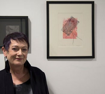 Lindsey Graham - printmaker specialising in collagraphs and linocuts - at Vitreus Art