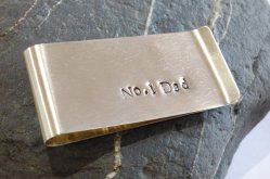 Liz Dee money clip for a popular dad