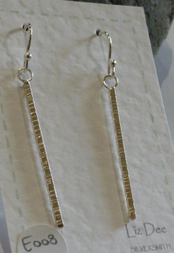 LIz Dee silver earrings