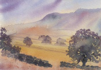 New art from Marlene Snee - local watercolour painter at Vitreus Art