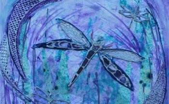 Mixed media courses with Clare Tebboth