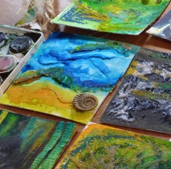 Mixed Media - one day class with Clare Tebboth