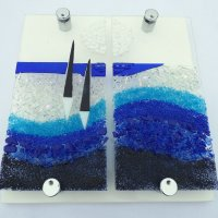 Moonlight - fused glass - click to view