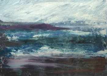 Niki Thomas acylic paintings of landcspaes and seascapes