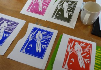 Printing your own greetings cards at Vitreus Art