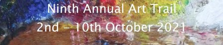 South Northants Art Trail 2021 October open studios with Vitreus Art