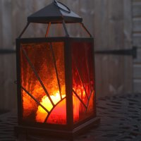 Stained Glass Lantern Classes with Vitreus Art