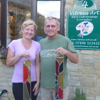 Stained glass leading classes - follow the link for info