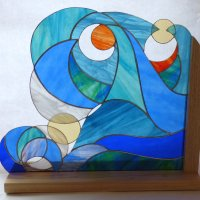 Summer Sun - stained glass - click for details