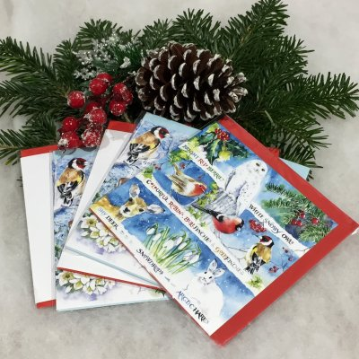 Christmas cards by artist Val Goldfinch