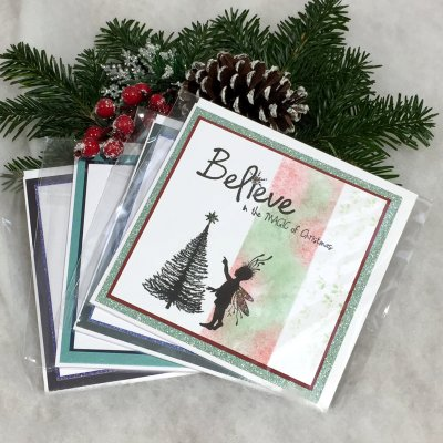 Christmas cards by Tina Ashton at Vitreus Art